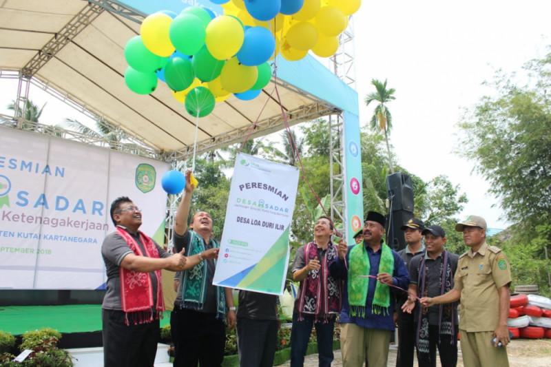 BPJS-TK luncurkan Loa Ilir Duri sebagai Desa Sadar Jaminan Sosial Ketenagakerjaan