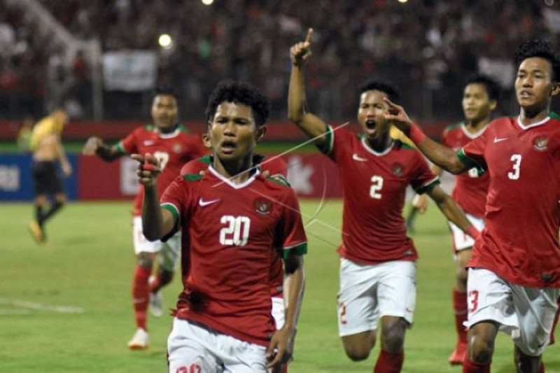 Gol si kembar Bagus-Bagas bawa Indonesia taklukkan Iran