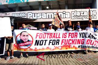 Suporter Samarinda desak pergantian Ketua Umum PSSI