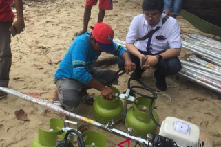 Pertamina bagikan Paket KonversiI Energi Nelayan
