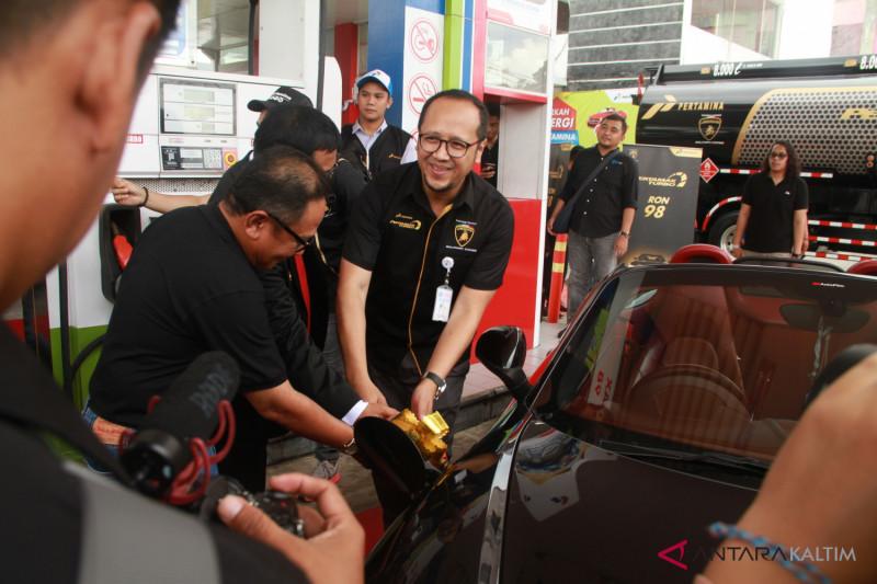 Pertamax turbo mulai dijual di Balikpapan