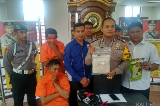 Polresta Samarinda Ungkap Peredaran Sabu-Sabu Satu Kilogram