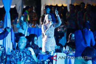 Dewi Gita Hibur Acara Welcome Party Porprov