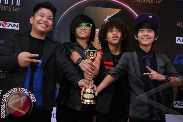 Grup vocal Coboy Junior (ANTARA FOTO/Teresia May)