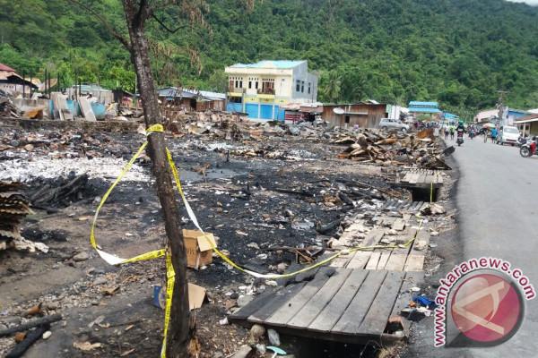 Kebakaran Pasar Terjadi Saat Pedagang Sudah Datangkan Stok Natal