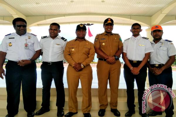 12 Calon Pilot Papua Segera Jalani Pendidikan