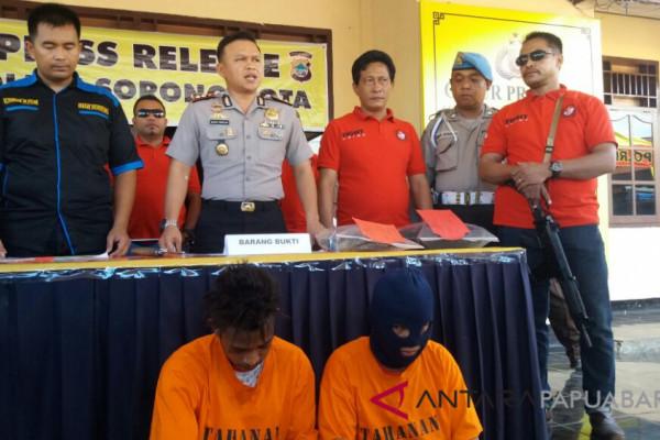 Polres Sorong Kota Tangkap Pelaku Begal Sadis