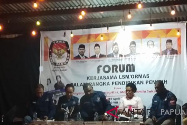 KPU Pacu Partisipasi Pemilih Papua Barat