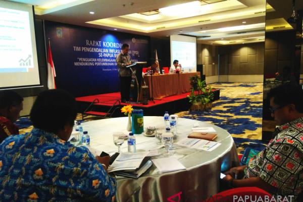 TPID Usulkan Sepuluh Rekomendasi Kepada Gubernur Papua Barat