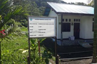 Program dana desa angkat kampung Kurei Wondama