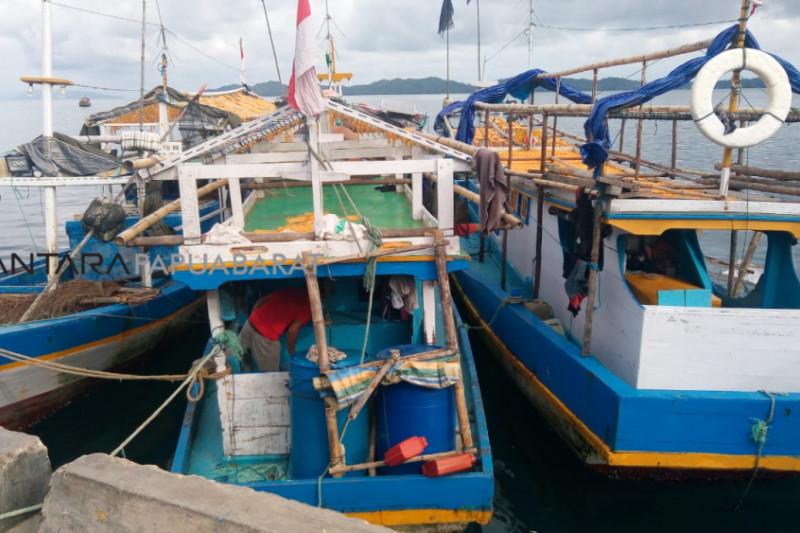 Polda Papua Barat tangkap 12 kapal ikan