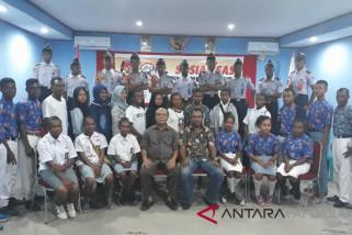 KPU Teluk Wondama beri pendidikan kepemiliuan bagi pemilih pemula