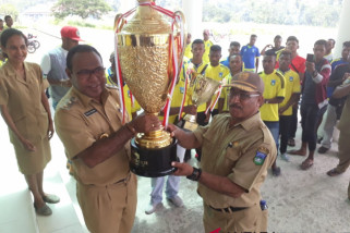 Persewon juarai Papua Island Cup