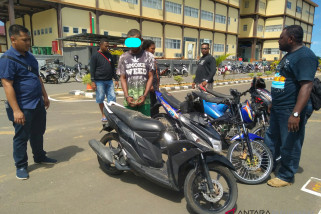 Polda Papua Barat ungkap perdagangan motor curian antara pulau