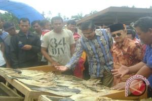 BJ Habibie Kunjungi Perkampungan Nelayan Di Kendari