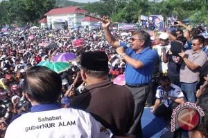 Ribuan Orang Simpatisan Hadiri Kampanye