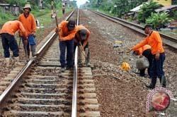 Pembangunan jalur kereta api ganda dimulai 2013