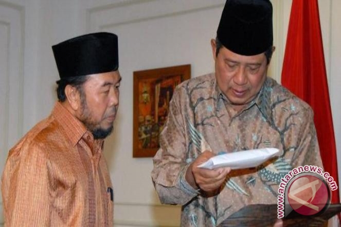 Presiden SBY peringati Isra Miraj di Istana Negara