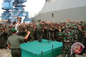Personel batalyon selesaikan tugas di Papua