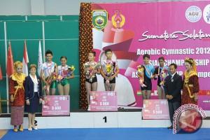 Jepang borong emas di kejuaraan senam Asia