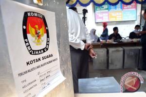 Penghitungan suara Pilkada Gubernur di KPU Sumsel