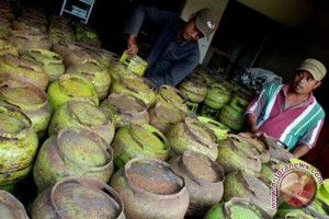 Hiswana Migas Palembang awasi agen elpiji 3 Kg