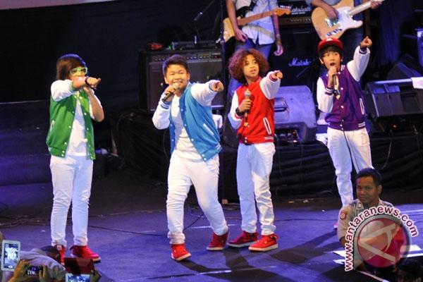 Coboy Junior adakan konser di Palembang