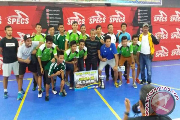 Tim Futsal Sumut Juara 3 di Padang