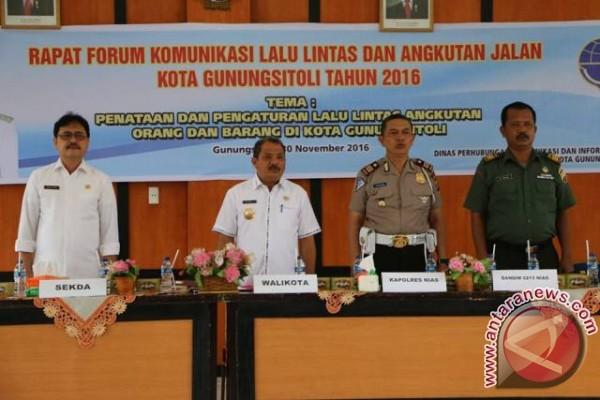 Pemko Rapat Forum Komunikasi Lalu Lintas