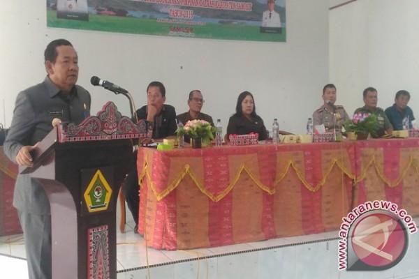 FKPD Samosir Pertemuan Dengan Masyarakat Empat Kecamatan
