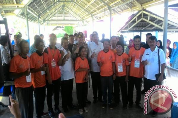 Gubsu Dan KapoldaTinjau TPS Di Tapteng
