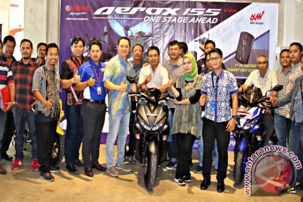 Jurnalis Rasakan Sensasi Yamaha Aerox 155VVA