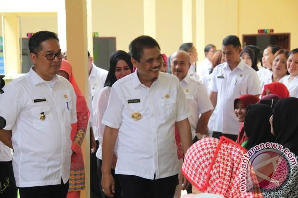 Bupati Asahan Resmikan Puskemas Pulo Bandring