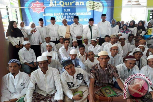 Lapas Salambue Gelar Khataman Al-Qur'an