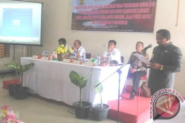 Pemkab Samosir Gelar Rapat Evaluasi Perizinan Modal