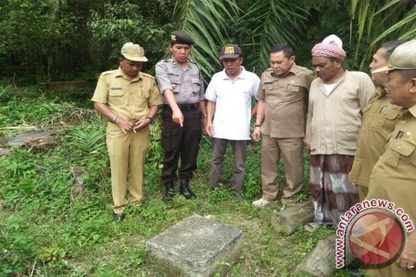 Labusel Tinjau Pilar Batas Provinsi Sumut-Riau
