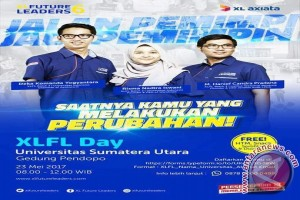 XL FL Day di Gelar Di Pendopo Universitas Sumatera Utara