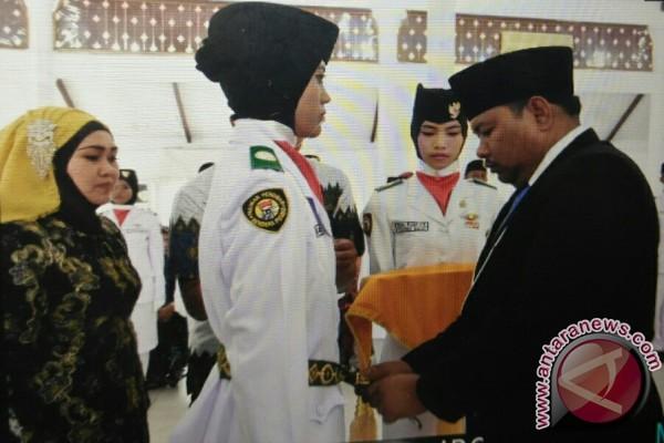 Wali Kota Tanjungbalai Kukuhkan Paskibra HUT RI