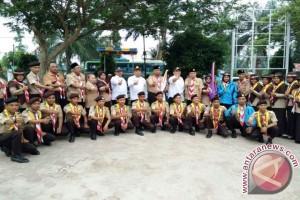 Wabup Lepas 39 Raimuna Nasional ke Cibubur