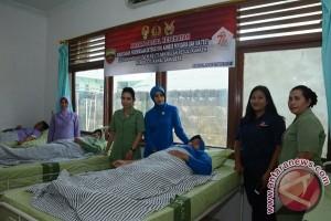 Korem 023/KS Gelar Donor Darah