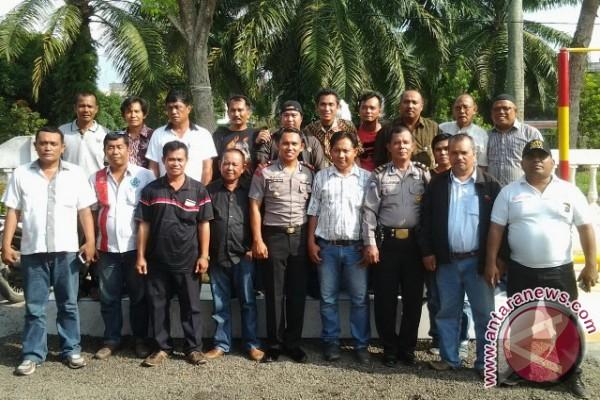 Polsek Perdagangan Simalungun dan Wartawan Silaturahmi