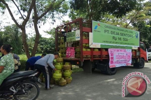 Tebing Tinggi Operasi Pasar LPG 3 kg
