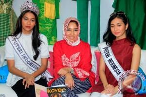 Putri Indonesia Pun Terpesona Dengan Batik Medan