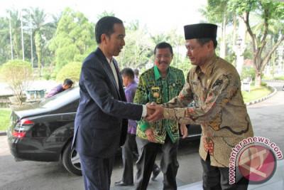 Presiden Singgahi Rumah Dinas Gubernur Sumut