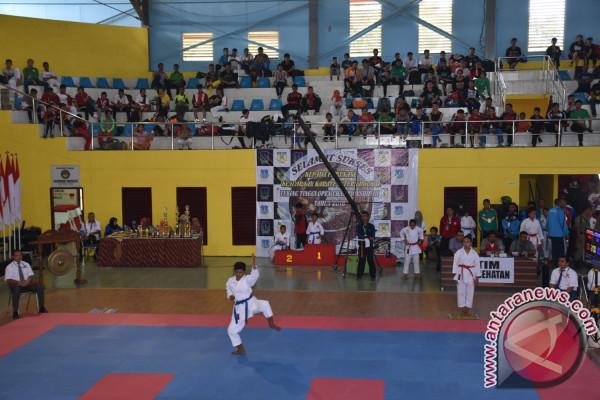 335 Karateka Sudah Mendaftar Kejuaraan Karate Tebing Tinggi