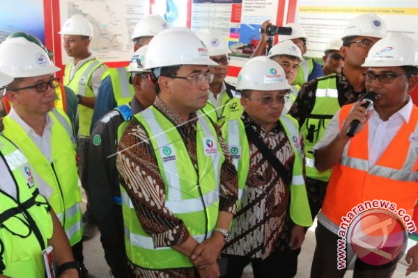 Pembangunan Pelabuhan Kualatanjung Sudah 94 Persen