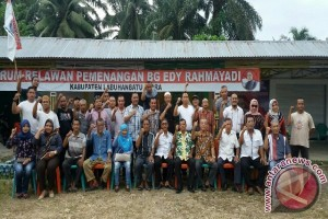 Forum Relawan Edy Rahmayadi Lakukan Konsolidasi