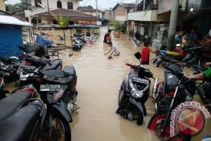 Ratusan Rumah Terendam Banjir, Akibat Debit Air Di Hulu Tinggi