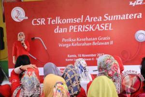Telkomsel Gelar Pemeriksaan Kesehatan Gratis Warga Medan