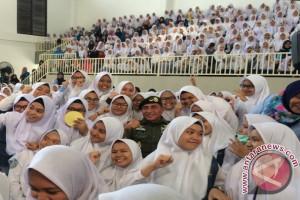 Pelajar Al Azhar Dapat Arahan Soal Bela Negara Dari Pangkostrad